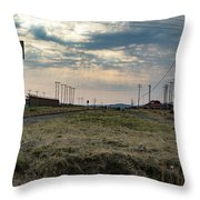 Thaba Nchu Railway Throw Pillow