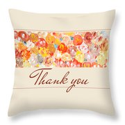 Thank You #3 Throw Pillow