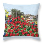 Thankful For The Spring Rain Throw Pillow