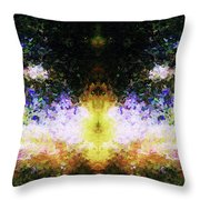 That Time We Woke Up Laughing In Claude Monet's Garden Throw Pillow