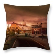The Aberdeen Pavilion Built In 1898 Is The Centrepiece Of Ottawa's Lansdowne Park. Throw Pillow by Juan Contreras