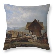 The   Accommodation  Throw Pillow