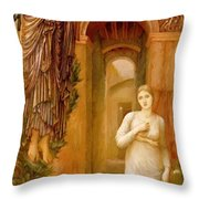 The Annnciation 1879 Throw Pillow