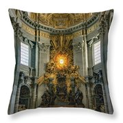 The Aspe Of St. Peter's Throw Pillow