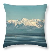 The Beauty Of The Journey II Throw Pillow
