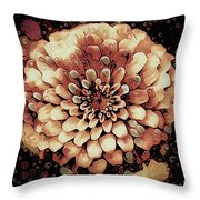 The Bloom Of Fall Throw Pillow