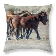 The Boys In The Band, No. 2 Throw Pillow by Belinda Greb