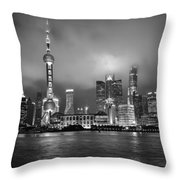 The Bund - Shanghai, China Throw Pillow