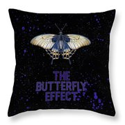 The Butterfly Effect II Throw Pillow