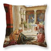 The Carpet Sellers Throw Pillow