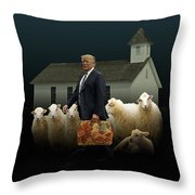 The Carpetbagger Throw Pillow