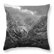 The Cathedral Group Throw Pillow