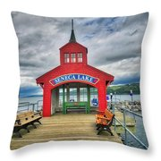 The Charm Of Seneca Lake - Finger Lakes, New York Throw Pillow