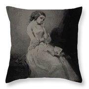 The Commentary 1843 Throw Pillow