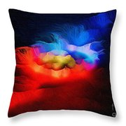 The Continuum Of Us - Breaking The Gridlock Of Hate Number 2  Throw Pillow