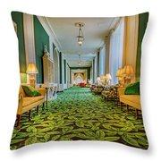 The Corridor Throw Pillow