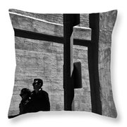 The Couple No.1 In A Series Throw Pillow