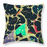 The Craft Of Love Throw Pillow