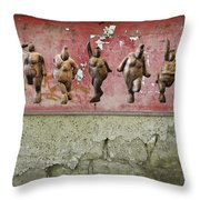 The Crones - Venus Dancing  Throw Pillow