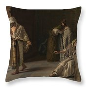The Departure Of The Lost Son  Throw Pillow