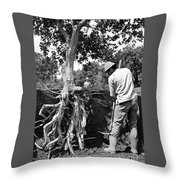 The Dig Replants A Tree Throw Pillow