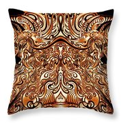 The Divine Chariot Throw Pillow
