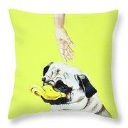 The Duck Throw Pillow