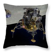 The Eagle Has Wings Throw Pillow