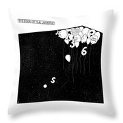 The Edge Of The Universe Throw Pillow