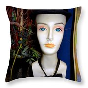 The Equestrian Throw Pillow