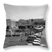 The  Event Arrrivals Throw Pillow
