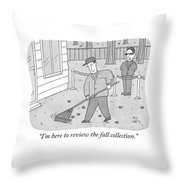 The Fall Collection Throw Pillow