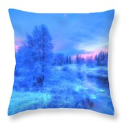 The First Snow 2 Throw Pillow