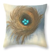 The Four Sisters Throw Pillow