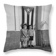 The Future Cuba Throw Pillow