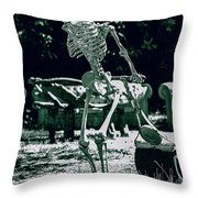 The Gardener 2 Throw Pillow