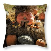 The Gords Are Ready For Autumn Throw Pillow by Jeff Folger