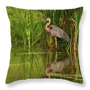 The Great One At Home Throw Pillow