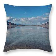 The Great Salt Lake Throw Pillow