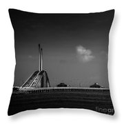 The Great Span Throw Pillow