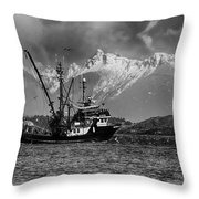 The Great White North Strong And Free Throw Pillow