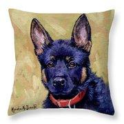 The Guard Dog Throw Pillow