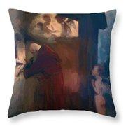The Hermit 1884 Throw Pillow