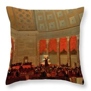 The House Of Representatives, 1822 Throw Pillow