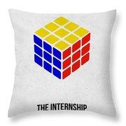 The Internship Throw Pillow