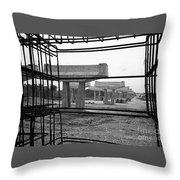 The Iron Substructure Throw Pillow