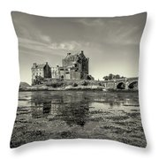 The Island Castle Throw Pillow