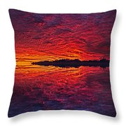 The Last Chapter Throw Pillow