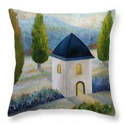 The Light Within Throw Pillow by Angeles M Pomata