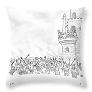 The Line Of Succession Throw Pillow